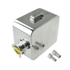 UNIVERSAL ALUMINUM RADIATOR COOLANT OVERFLOW TANK &PRESSURE CAP 2.5LTR