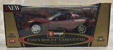 Chevrolet Corvette Targa 1998 1 18 Made in Italy Bburago 3396