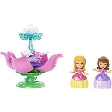 New- Disney- Junior- Princess SOFIA and Amber -Petal Party -  Mattel Playset