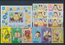 LM40446 Liberia WHO masks fine lot MNH