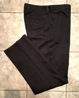 DOCKERS * Mens Black STRAIGHT FIT Casual Pants * Size 33 x 34 * EXCELLENT