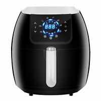 Digital Deep Air Fryer Customized Preset&Pause Function Timer Oil-less Healthy