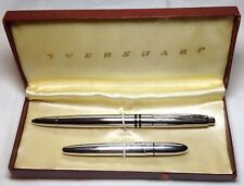 """Eversharp Ball Pen Set """"Kimberly Retractable"""" and """"Pockette"""" Pens in a Set Box"""