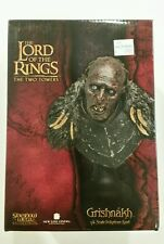 Grishnakh Bust Lord of the Rings Lotr Sideshow Weta 1/4 scale