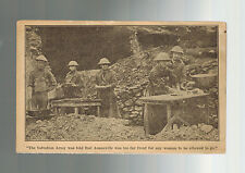 Mint WW 1 US Army Women Soldiers RPPC Postcard At Front in France Angel of USA