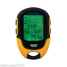 LCD Digital LED Torch Altimeter Barometer Compass Thermometer Forecast NEW
