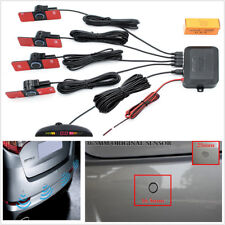 Car Parking Sensor System Rear View Backup Radar Alarm Kit 16Mm 12V Flat Reverse (Fits: Wasp)
