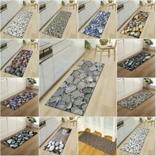 Color Stone Bath Floor Mats Kitchen Long Strip Bedroom Mats Living Room Carpet
