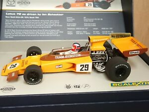 SCALEXTRIC C3833A Lotus 72 Ian Scheckter No.29 Ltd Edition No. of 2000