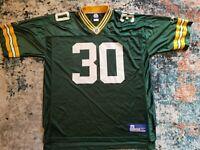 Ahman Green Green Bay Packers NFL Equipment Reebok Jersey Men's Size XL