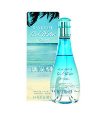 COOL WATER EXOTIC SUMMER-DAVIDOFF-WOMEN-EDT-SPRAY-3.4 OZ-100 ML-AUTHENTIC-FRANCE