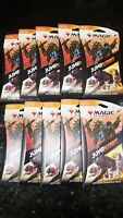 Magic the Gathering Jumpstart 20-card Booster Pack (10 PACKS)