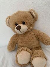 "Build-A-Bear Workshop Light Brown Teddy Bear 16"" Plush Stuffed Animal BAB"