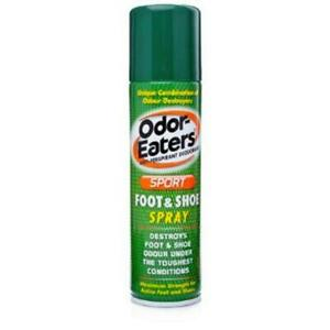 Odor Eaters Sport Foot & Shoe Spray 150ml (select packs) **Free Delivery**