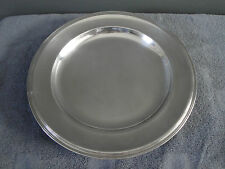 Christofle silverplate round serving platter 12,6 inches