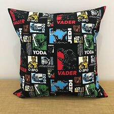 "18"" (45cm) STAR WARS Cushion Cover Pillow Case. Made Australia"