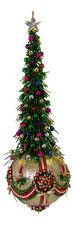 "SATIN BEADED CHRISTMAS ORNAMENT KIT - ""Christmas By Candle Light"""