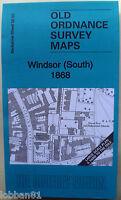 Old Ordnance Survey Maps Windsor South Berkshire 1868  yard to mile Godfrey Edt