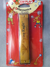 Harmonica, harmonica 32 notes , KIM'PLAY, harmonica pour enfants ,3 ans et +