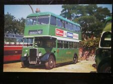 POSTCARD RP HANTS & DORSET BUS NO 1324 (LATER 1387) 1952 BRISTOL KSW6G WITH EAST