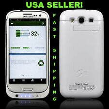 NEW SAMSUNG GALAXY S III S3 SIII RECHARGEABLE BATTERY CHARGER CASE POWER BANK