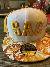 New Era 59fifty Sacramento River Cats Theme Nights Men's Size: 7 3/8 MILB
