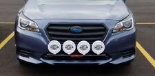 Fits 2015 Subaru Legacy RALLY LIGHT BAR, (Bull, Nudge Bar), 4 Light Tabs!