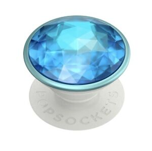 💎PREMIUM Popsockets Popgrip - Disco Crystal Blue - Cell Phone Holder & Stand💎