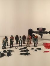 Vintage Starcom Figure Lot Of 12 Figures, Accessories, One Vehicle