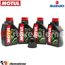 KIT TAGLIANDO OLIO + FILTRO MOTUL 5000 10W40 4LT SUZUKI 600 GSR 2010