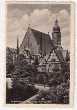 AK Leipzig - Reichsmessestadt Leipzig Thomaskirche,schwarz-weiß