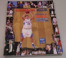 KU Jayhawk Basketball Program - Southern California Dec 12, 1998
