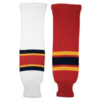 Florida Panthers Knitted Classic Hockey Socks - Red White