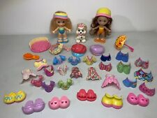 Fisher-Price Snap 'N Style Dolls Lot