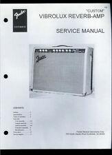 Nice Copy Fender Vibrolux Reverb Amp Guitar Amplifier Parts List & Schematic(s)