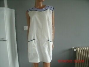 blouse nylon  nylon kittel nylon overall VIVIANA T44/46