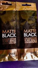 2 DEVOTED CREATIONS MATTE BLACK BRONZER ~ RESALE PACKETS