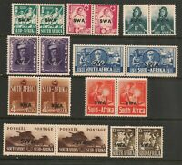 South West Africa 1941 War Effort Set Mint Hinged