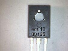 10x BD135-10 Transistor NPN 45V 1,5A 8W TO126