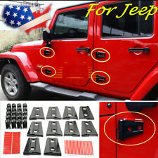 Hood & Door Hinge Cover for Jeep Wrangler Jk Jku 2007-2017 Unlimited Accessories