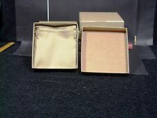 Jewelry Gift Boxes w/ Matching Pouch 128 x 120 x 29mm h, Birthday, Gifts Set (8)