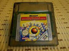 Microsoft Entertainment pack Gameboy Color et Advance