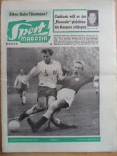 SPORT MAGAZIN KICKER 47A - 14.11. 1960 St.Pauli-HSV 1:6 Offenbach-Nürnberg 2:1