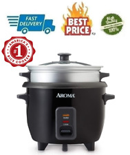 Rice Cookers Steamers Multicookers 3 Uncooked 6 Cups Cooked Silver User Friendly