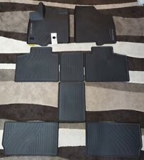 2013-2019 TOYOTA SIENNA ALL WEATHER FLOOR MAT SET OEM