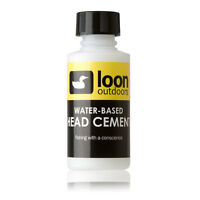 Loon Outdoors Head Cement Water Based Flexible Fly Tying Fly Fishing