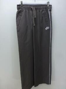 NIKE Sportswear brown track running sweat wind pants windpants womens Small 4-6