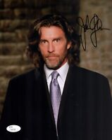 JOHN GLOVER Signed SMALLVILLE Lionel Luthor 8x10 Photo Autograph JSA COA