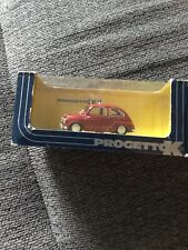Progetto K 1:43 Die Cast 1956 Fiat Police Car Italy