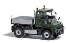 Busch 50902 MERCEDES UNIMOG U430 verde, H0 Modelos En Miniatura a escala 1:87